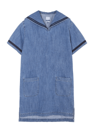 Denim sailor dress