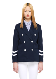 Tailored sailor jacket