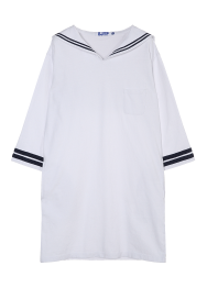Jersey sailor dress