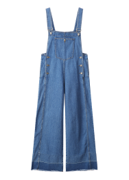 Big pocket overall pants