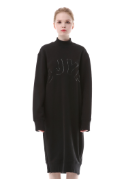 SJYP logo long sweatshirt