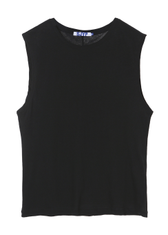 [unisex] Basic sleeveless tee