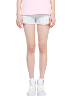 Destroye denim shorts pants