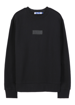 Rubber logo sweatshirt