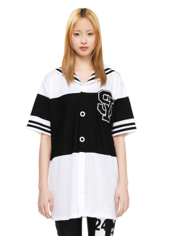 Sailor mesh dress