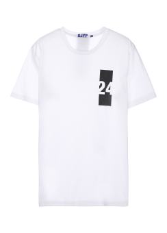 Sjyp back label t-shirts