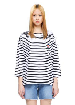 Sjyp stripe t-shirts