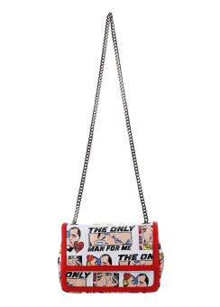 Marvel print chain bag