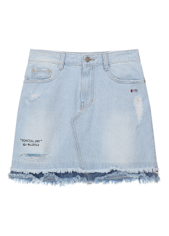 Love me denim mini skirt