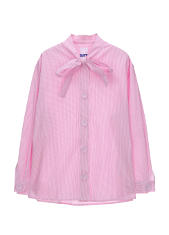 Stripe ribbon shirts