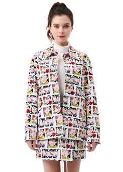 Marvel print jacket