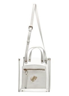 Dino clear shoulder bag