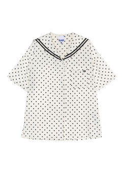 Dot sailor shirt