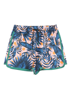 Hawaiian print shorts