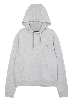 Small logo destroyed hoodie