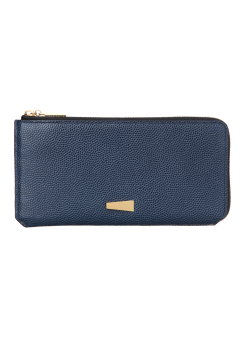 LUSSO HALF ZIPPER PURSE