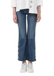 Bootscut denim pants