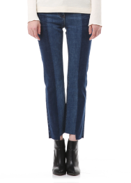 Unbalance denim pants