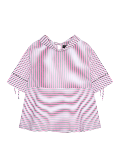 Maison stripe blouse