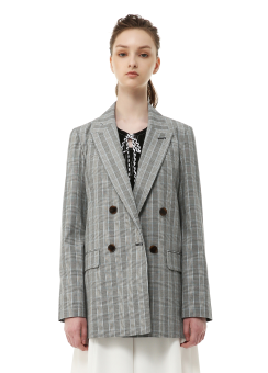 Canon check jacket
