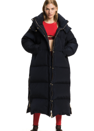 Gigi hadid lux long down coat