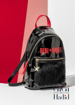 Gigi Hadid mini backpack mohair