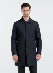 [Men] Poly stretch trench