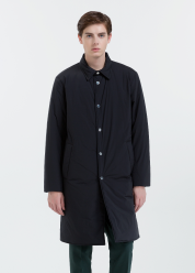 [Men] Matte nylon long outerwear