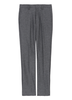 [Men] WOOL REVERSE PANTS