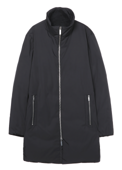 [Men] AVIATOR NYLON OVERSIZE FUNNEL COLLAR DOWN OUTERWEAR