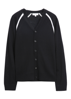 [Men] EXTRAFINE WOOL BUTTON UP CARDIGAN