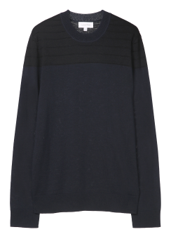 [Men] HIGH TWIST DRY WOOL (P/W SPANDEX) LONG SLEEVES TOP