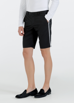 [Men] Refined cotton twill shorts