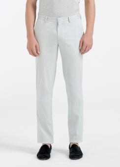 [Men] Linen stretch pants