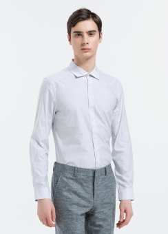 [Men] Melange shirts