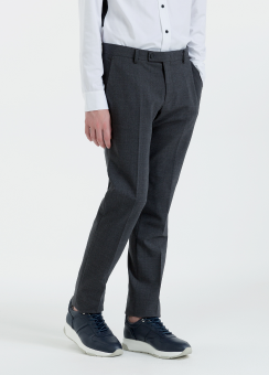 [Men] Wool stretch pants