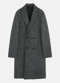 [Men] Herringbone db coat
