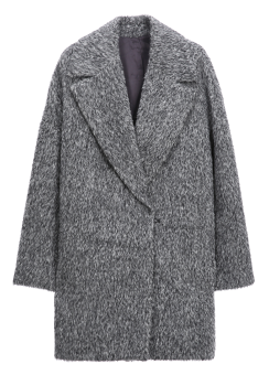 [Women] ALPACA EASY COAT - FULLY LINED