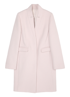[Women] WOOL CASHMERE COAT - FULLY LINED