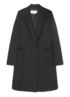 [Women] Cashmere classic long jacket coat
