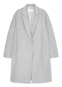 [Women] Cashmere coccon shaped long coat