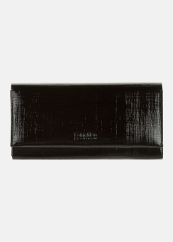 [Women] Long flap wallet w/ rem cardcase