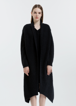 [Women] Chunky long cardigan