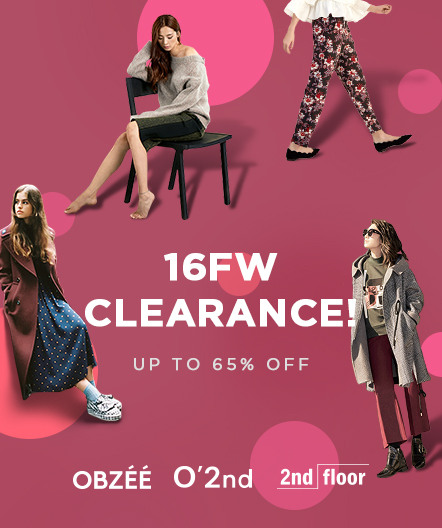 16FW CLEARANCE