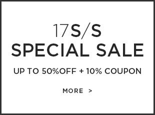 17S/S SPECIAL SALE up to 50%OFF + 10% coupon
