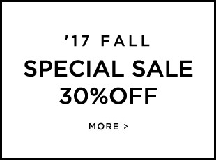 O'2nd '17 FALL SPECIAL SALE 30%OFF