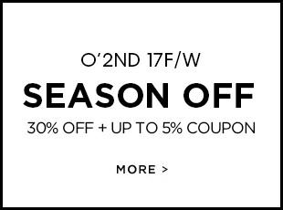 O'2nd 17F/W SEASON OFF