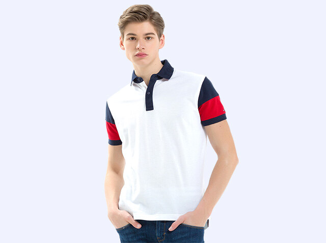 TOMMY HILFIGER<br>Men, 피케셔츠