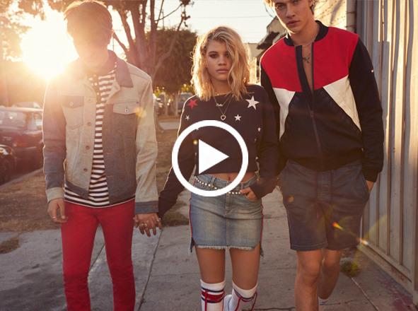 TOMMY HILFIGER DENIM<br> Discover L.A. the Hilfiger Denim way