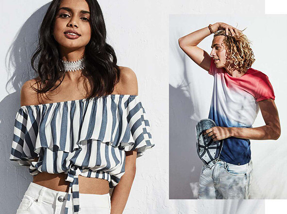 AMERICAN EAGLE OUTFITTERS<br> ARE YOU READY FOR SUMMER?